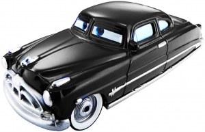 Cars véhicule change de couleur Doc Hudson
