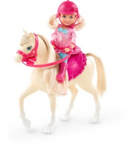 Barbie Chelsea et son poney