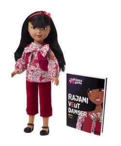 Corolle Kinra Girls Poupée Rajani et son Livre