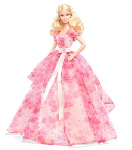 Barbie de collection - Barbie Joyeux Anniversaire 2014