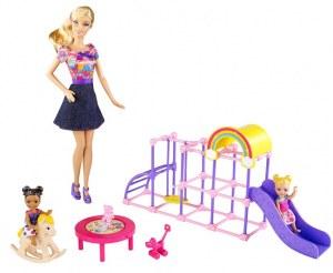 Barbie Jardin d'enfants