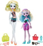 Monster High Lot de 2 poupées Monster Family FCV82