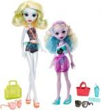 Monster High Lot de 2 poupées Monster Family FCV82
