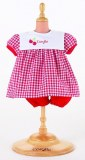 Corolle Habit bébé 30 cm Ensemble robe rouge