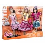 Barbie fashionistas - Vêtements 3 Tenues Cutie