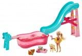 Barbie Piscine de Chelsea et animaux