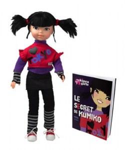 Corolle Kinra Girls Poupée Kumiko et son Livre