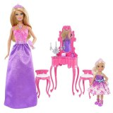 Barbie Mobilier coiffeuse