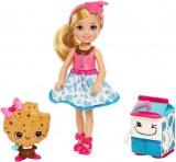 Barbie Chelsea Dreamtopia Chelsea et 2 amis au lait et biscuits sucrés FDJ11