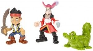 Jake et les pirates - Coffret 3 figurines Jake, Izzy et Cubby