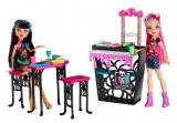 Monster High La Cafétorreur Cléo de nile et Howleen Wolf