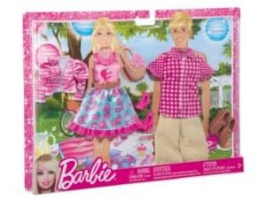 Barbie fashionistas - Vêtements 2 Tenues pique nique en amoureux