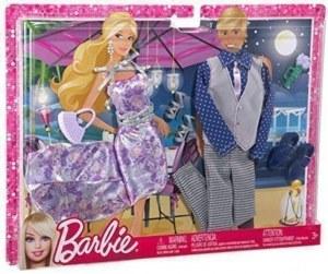 Barbie fashionistas - Vêtements 2 Tenues Diner au Clair de Lune