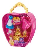 Disney princesses - Magiclip sac mini princesse Belle et 3 tenues BBD32