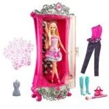 Barbie - Armoire Paillettes Magiques