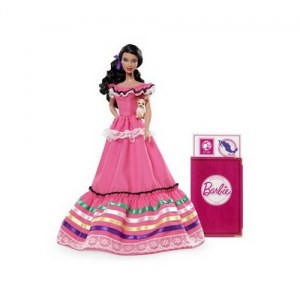 Barbie du monde mexique W3374