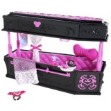 Monster High chambre lit poupée draculaura T8006