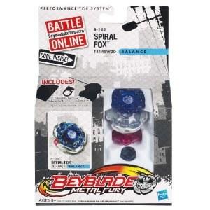 Beyblade toupie Metal Fury Spiral Fox 50412