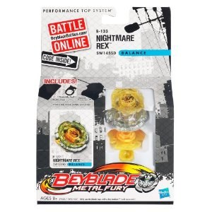 Beyblade toupie Metal Fury Nightmare Rex 39628