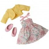 COROLLE les chéries vêtement ensemble jolie robe et ballerines W9386