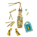 Monster High Habillage tenue uniforme Cléo de Nile W9124