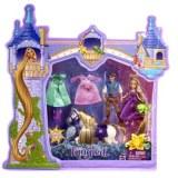 Disney princesses - Méga coffret raiponce mini poupée T7566