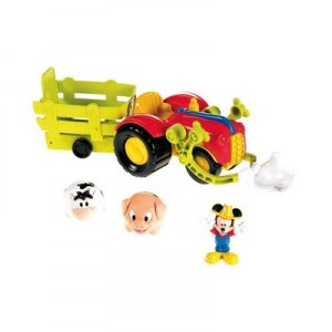 Fisher Price Tracteur Mickey X4985