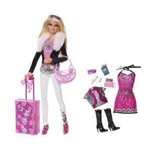 Barbie Fashionistas Jet Set Glam