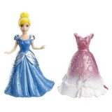Disney princesses magiclip mini cendrillon et sa tenue