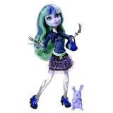 Monster High 13 souhaits poupée Twyla BBJ95