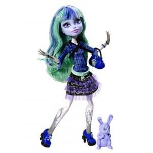 Monster High 13 souhaits poupée Twyla BBJ95