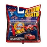 Cars 2 - Cars Véhicule Action Agent Flash McQueen V3019