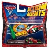 Cars 2 - Cars Véhicule Action Agent Francesco Bernoulli V3021