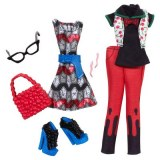 Monster High Coffret habillage tenue uniforme Ghoulia Yelps Y0408