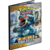Album portofolio pokemon 90 cartes A4 HeartGold SoulSilver