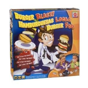 Mattel - Jeu de Société - Burger Fou