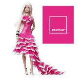 Barbie Collection robe pantone rose W3376