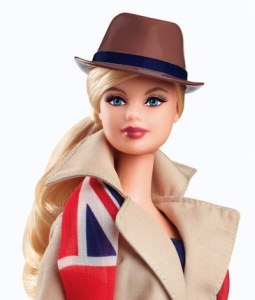 Barbie du monde Royaume Uni X8426