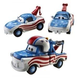 Cars 2 - Coffret 3 Vehicules : Mater the greater, Super martin, Der grossartige hook Y9241