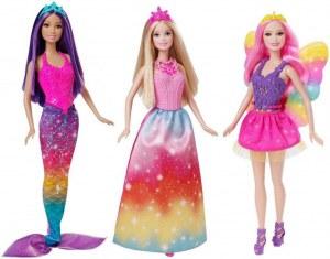 Barbie coffret 3 poupées féeriques CKB30