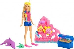 Barbie coffret la magie des dauphins FCJ29