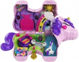 Polly Pocket coffret Licorne en Fête transportable
